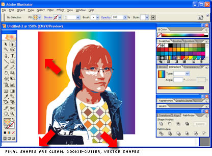 how to live trace in illustrator cs2