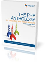 Book Cover: [request_ebook] The PHP Anthology: 101 Essential Tips, Tricks & Hacks, 2nd Edition