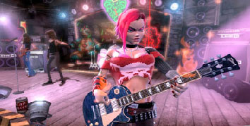 Another screenshot of Guitar Hero III