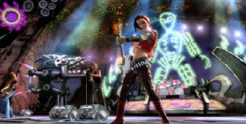 A screenshot of Guitar Hero III