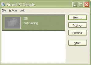 VPC console