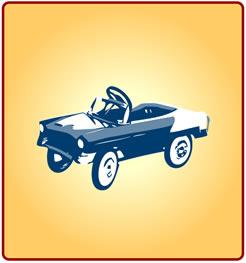 A pedalcar in JPG