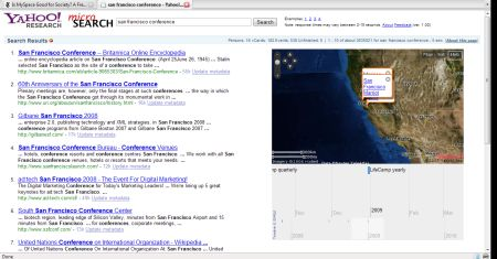 microsearch on conferences in San Francisco