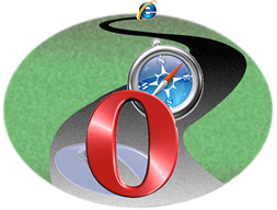 Opera Narrowly Beats Safari to the Finish Line