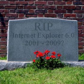 Rest In Peace IE6