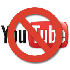 YouTube UK music ban