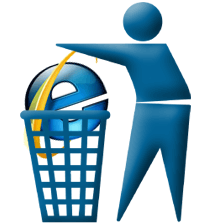 trashing IE