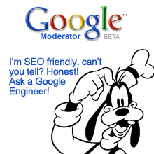 Goofy is SEO friendly.