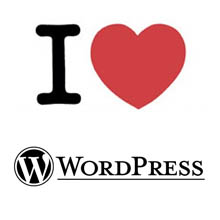 I heart WordPress.