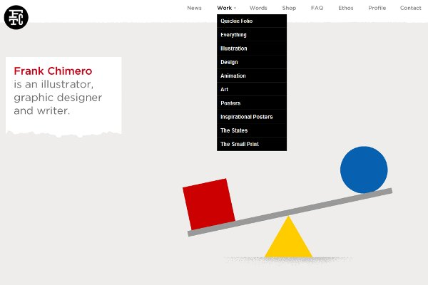 Simple but elegant - the sign of graphic design within