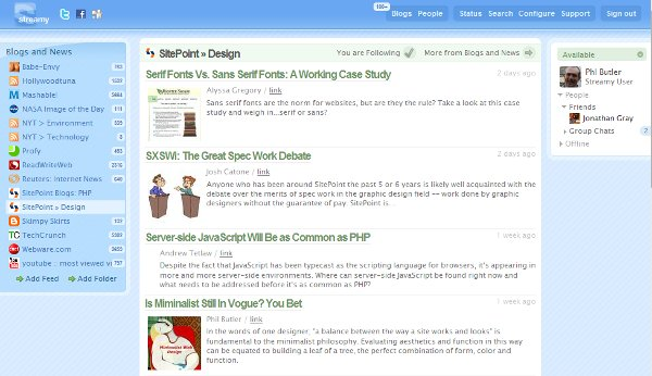 Fig. 1.3 Showing SitePoint single blog view