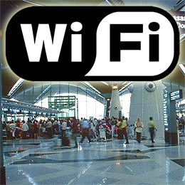 Airport wifi