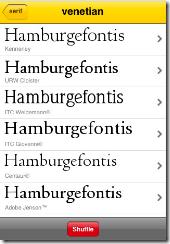 fontshuffle