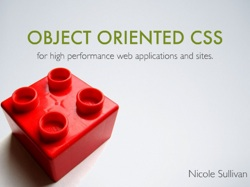Object Oriented CSS for high performance web applications and sites
