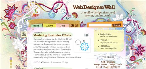 web-designer-wall