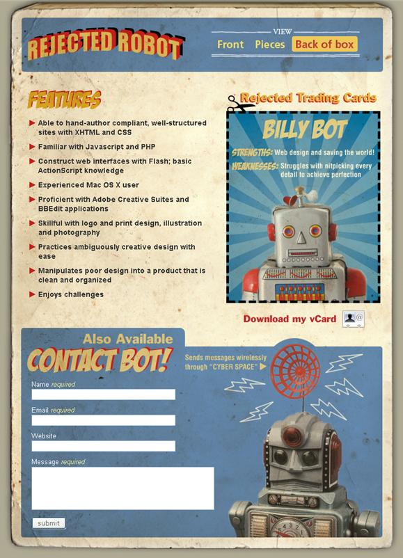RejectedRobot