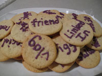 A photo of cookies