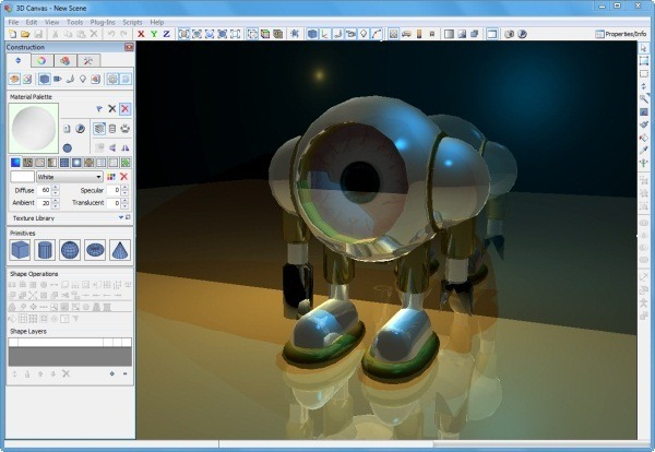 Eight 3d modeling graphics applications available for 3d modeling app