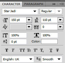 CharacterPalette