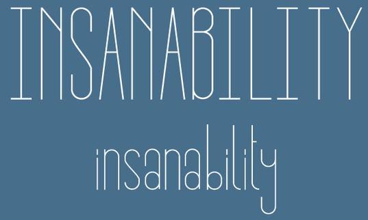 Insanability