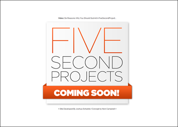FiveSecondProject