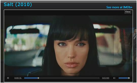 IMDb Video Panorama