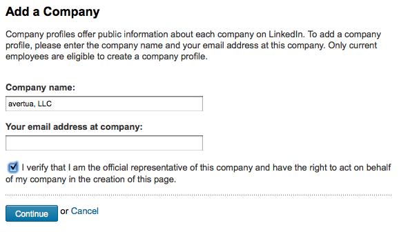 How to make company profile on linkedin