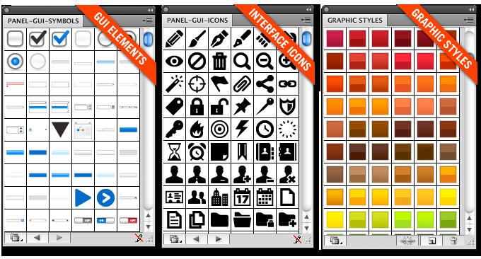 Free Ui Design Framework For Illustrator Sitepoint