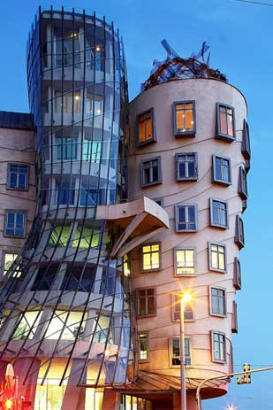 Dancing House by Frank Gehry