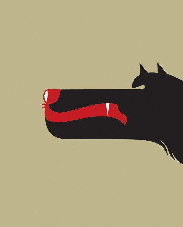 The power of negative space in logo design for Negative space design