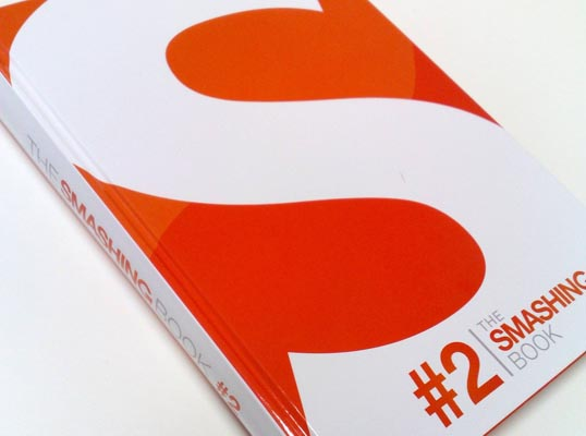Photo of the cover of The Smashing Book #2.