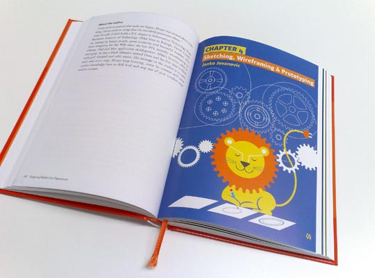 Photo of the illustration art marking the start of chapter 4.