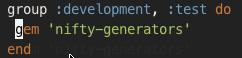 Nifty-Generators