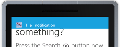 WP7 Push Notifications Figure 1