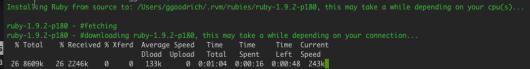 Installing Ruby 1.9.2