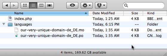 sample plugin localization file structure