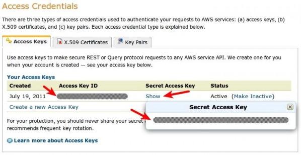 Access Credentials