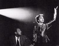 Billy Wilder's 'Sunset Boulevard' 1950 - http://en.wikipedia.org/wiki/Sunset_Boulevard