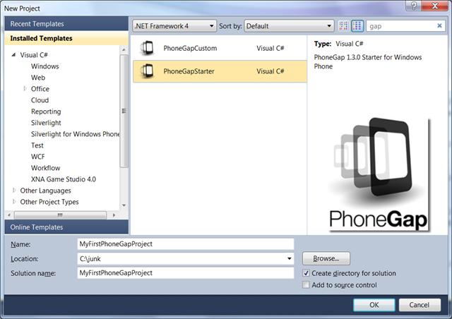 PhoneGap Starter