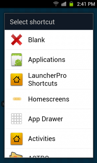 08_LauncherProShortcuts