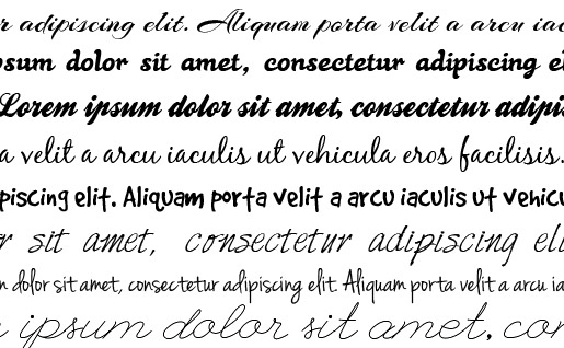 Scripted Or Handwritten Fonts Can Lend A Feminine Touch To Any Design Of Course Use These Carefully Not Every Element Should Be Adorned With