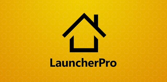 LauncherPro banner