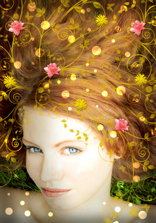 Nature Inspired Portrait