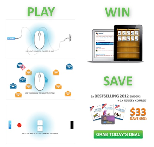 PLAY, WIN + SAVE at the GeekGames