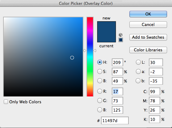 Create a blueprint effect with photoshop sitepoint to make this into a blueprint style background return to the layer styles dialog box select color overlay and choose a dark blue as your color malvernweather Choice Image