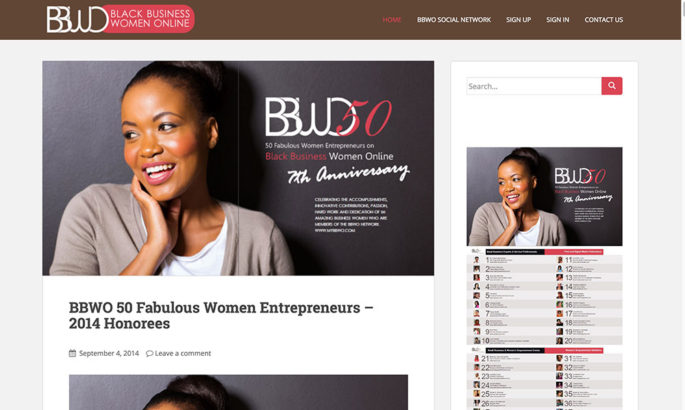 Black Business Women Online