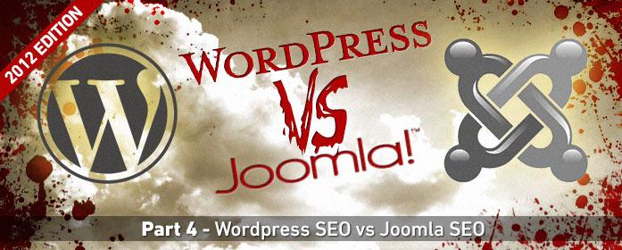 WordPress v Joomla