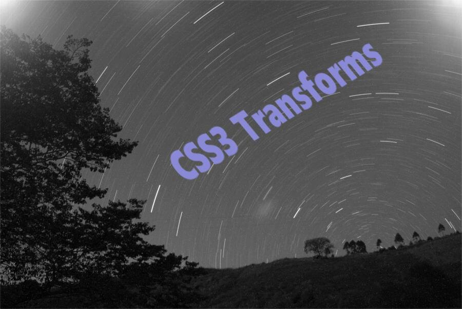 CSS3 Transforms on Background Images
