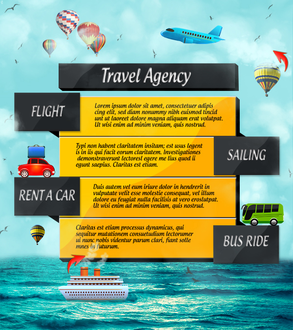 Travel Agency Advertisement
