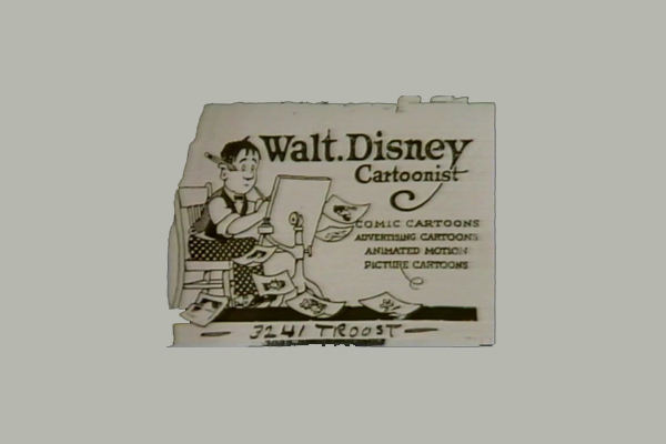 50 incredible film and theater business cards sitepoint walt disneys business card colourmoves